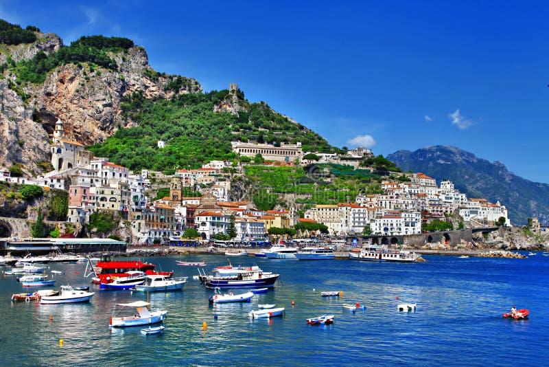 在意大利系列-阿马飞的旅行 免版税库存图片