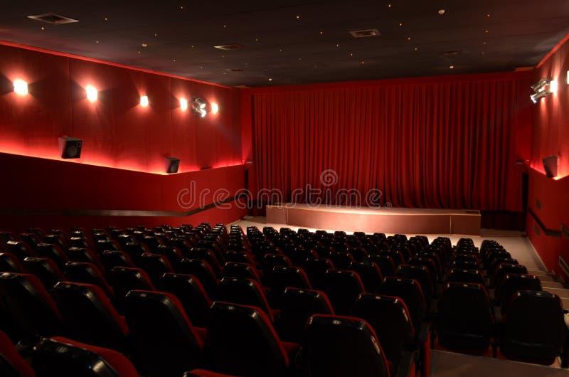 在戏院大厅里 免版税库存照片