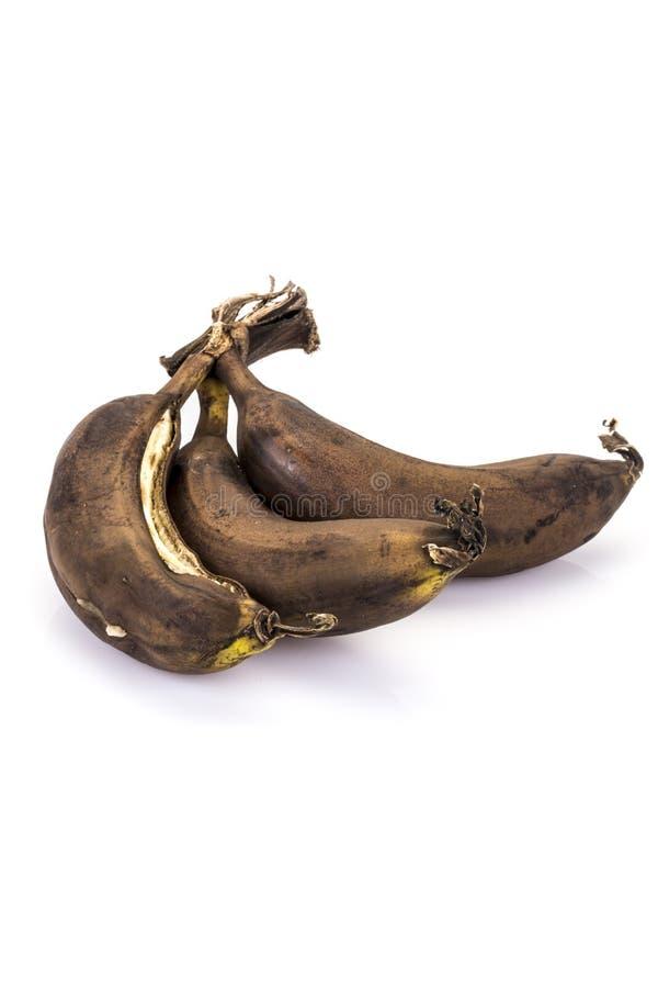 在成熟腐烂的香蕉 免版税库存图片