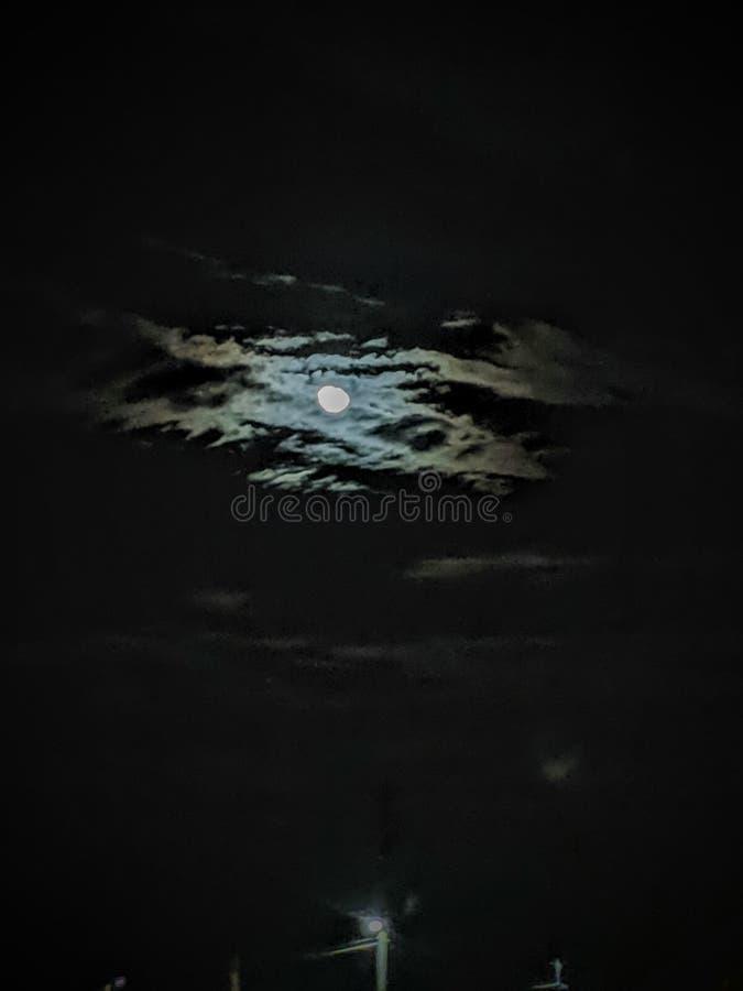 在我的眼睛的月亮 图库摄影