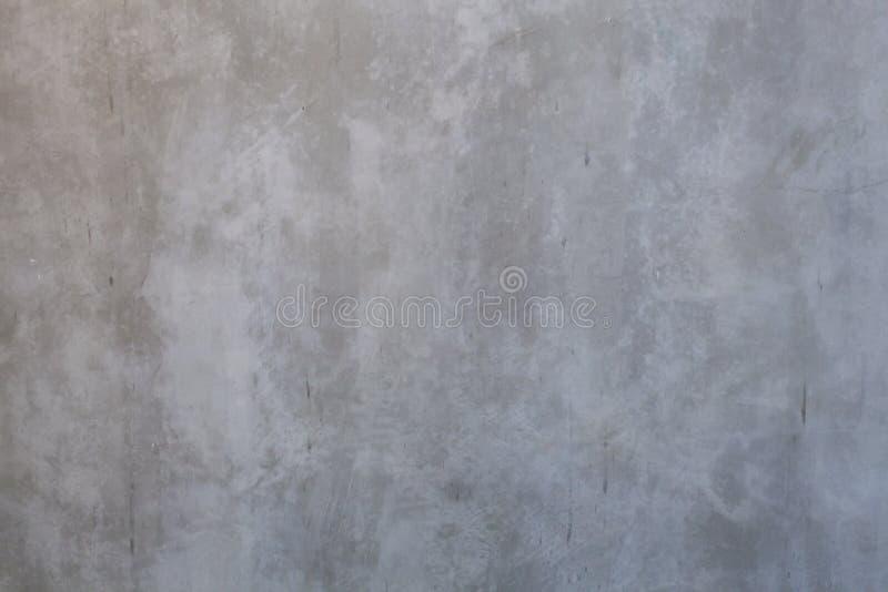 在房子墙壁表面背景的轻的光秃的优美的被暴露的水泥纹理样式 详述背景,摘要设计,内部ar 免版税库存图片