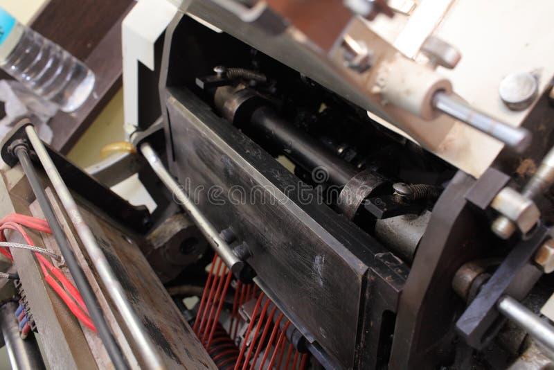 在打印制造的工业机器 图库摄影