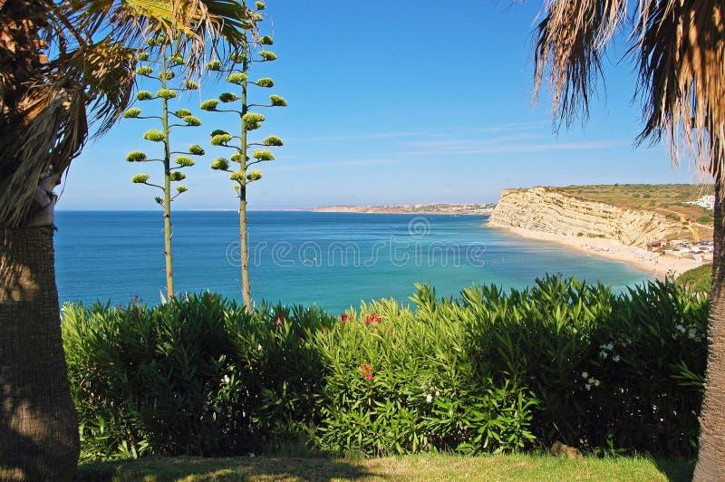 在拉各斯,葡萄牙附近的Algarve 免版税库存图片