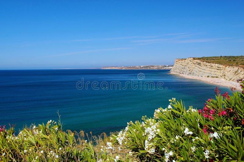 在拉各斯,葡萄牙附近的Algarve 免版税库存照片