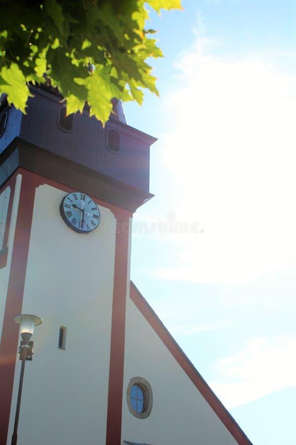 在捷克共和国的城堡 免版税库存图片