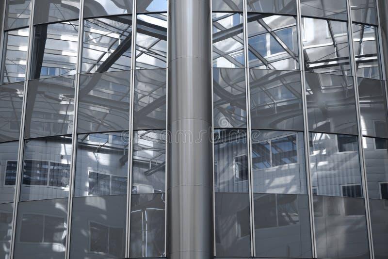 在摩天大楼维也纳里面的结构奥地利 免版税图库摄影