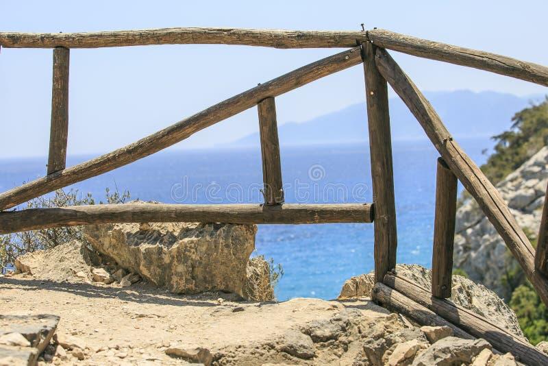 在撒丁岛选址的惊人的海滩 免版税库存照片