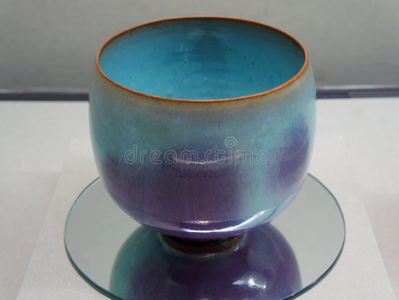 在故宫博物院的6月陶瓷 库存照片