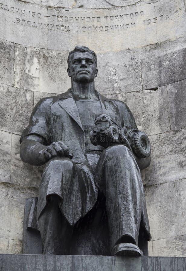 在教会正方形, vladimir,俄联盟的纪念碑 图库摄影
