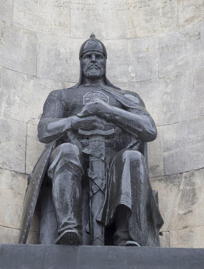 在教会正方形, vladimir,俄联盟的纪念碑 库存图片