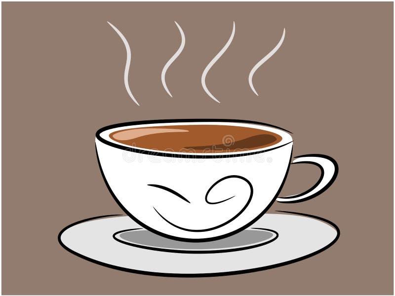 咖啡例证 库存例证