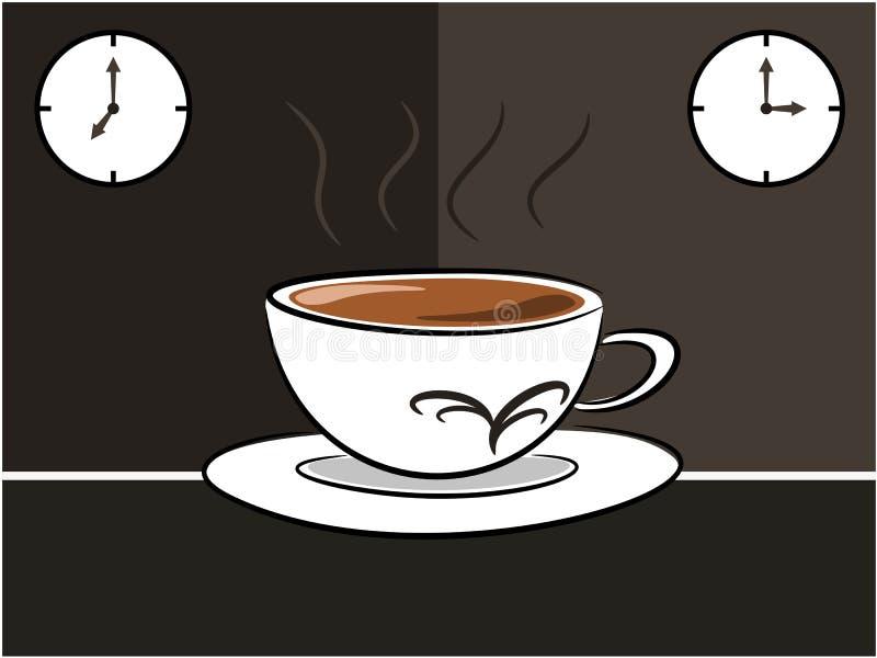 咖啡例证 皇族释放例证