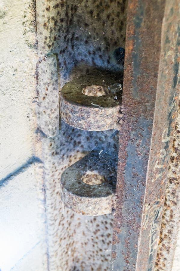 在斯摩棱斯克俄罗斯附近的希特勒` s纳粹地堡` Barenholle ` 免版税库存照片