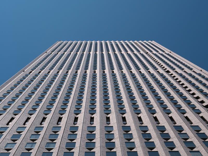 在新宿,东京的一个大厦 图库摄影