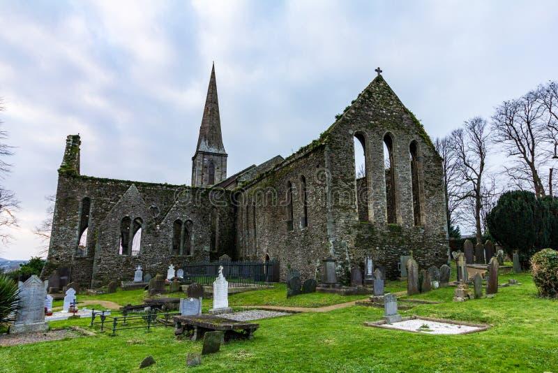 在新的罗斯的圣玛丽的Chuch,爱尔兰 图库摄影