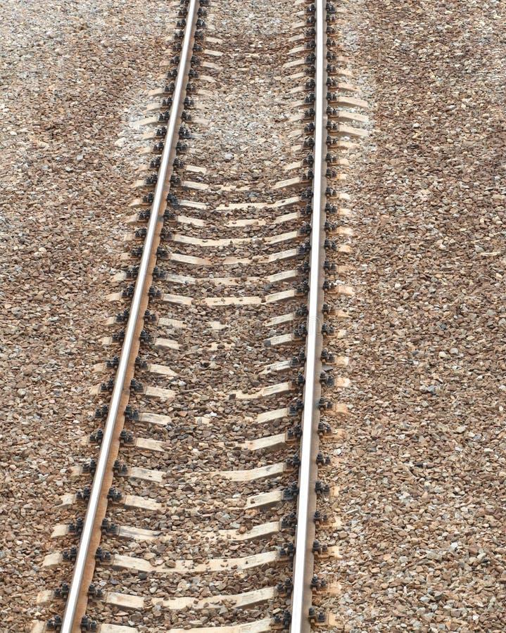 在日的铁路 库存照片
