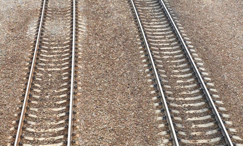 在日的铁路 免版税库存照片