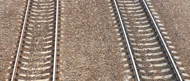 在日的铁路 库存图片