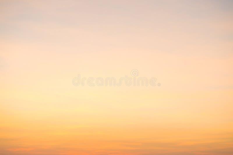 在日落的美好的cloudscape 库存照片
