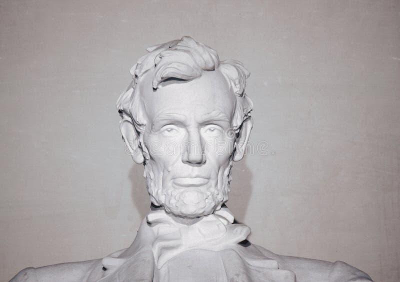 在早晨光,华盛顿特区的林肯纪念堂 库存照片