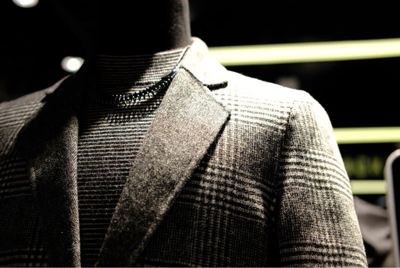 在时装模特的现代时尚衣服 免版税图库摄影