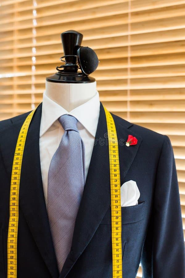 在时装模特的衣服 库存图片