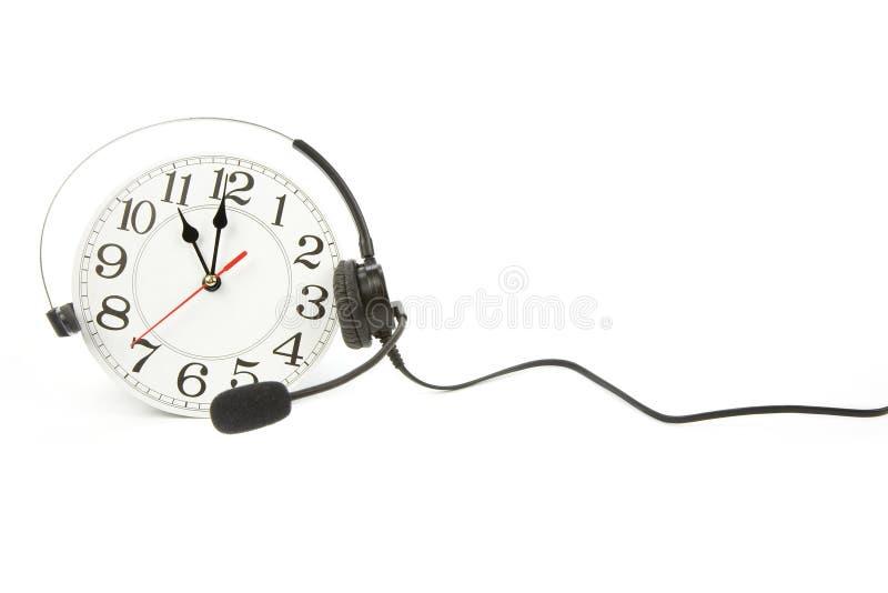 在时钟技术支持附近 库存图片