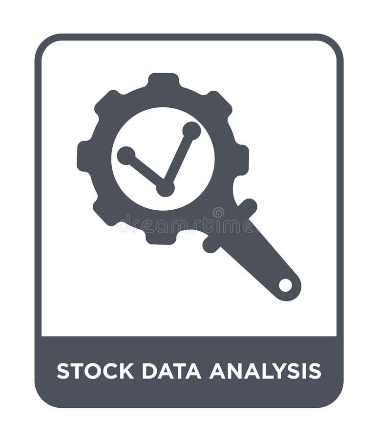 在时髦设计样式的储蓄数据分析象 在白色背景隔绝的储蓄数据分析象 储蓄数据分析传染媒介 向量例证