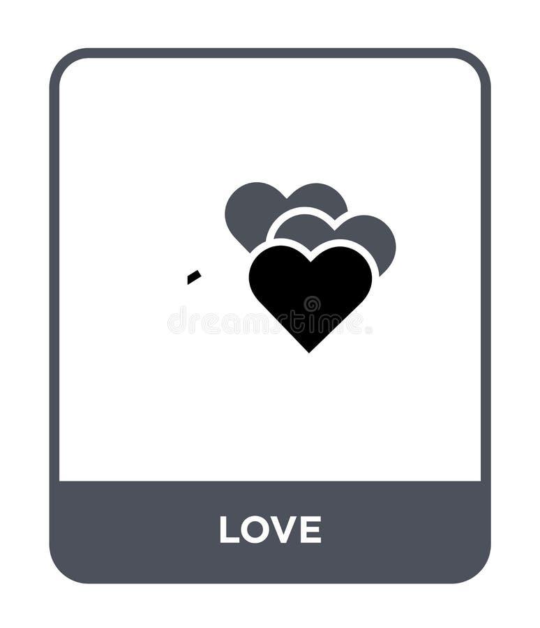 在时髦设计样式的爱象 在白色背景隔绝的爱象 网的爱传染媒介象简单和现代平的标志 皇族释放例证