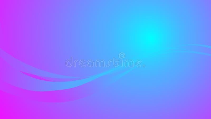 在明亮的颜色的抽象被弄脏的背景与梯度和梯度线 也corel凹道例证向量 皇族释放例证