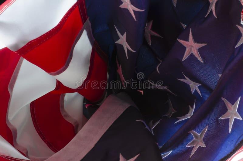 在星条旗里面 免版税库存照片