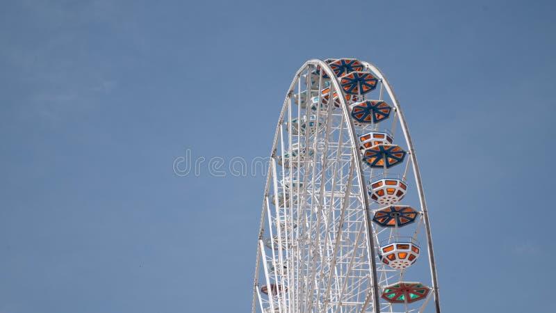 在普拉特公园维也纳的弗累斯大转轮 库存照片