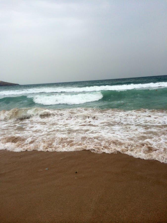 在暑假的海洋 库存照片
