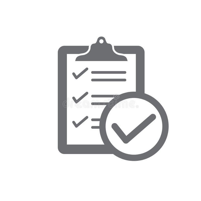 在服从-象设置展示公司通过了检查 库存例证