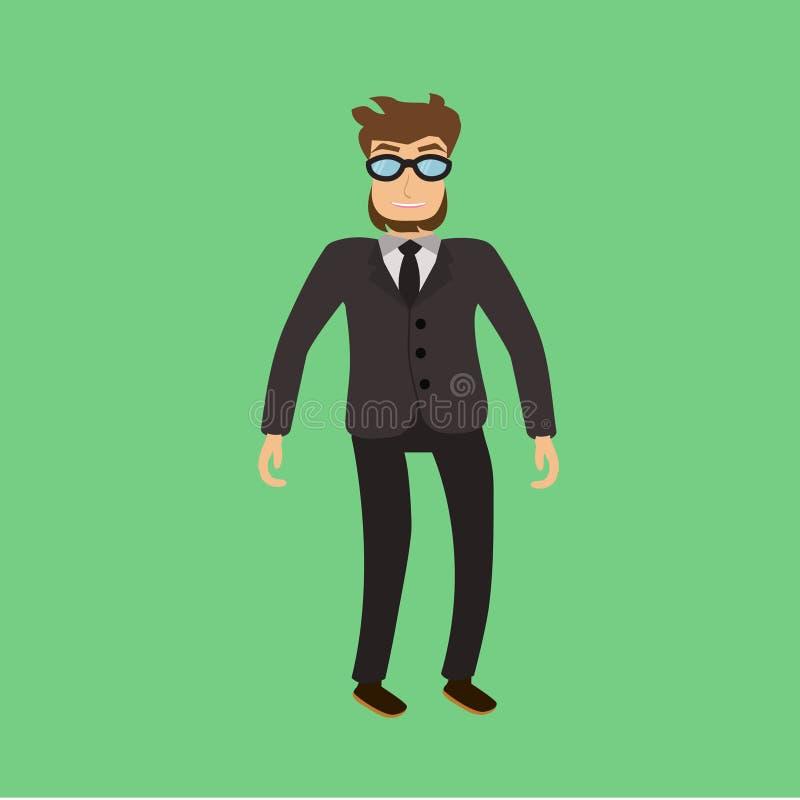 在服装的男性 免版税图库摄影