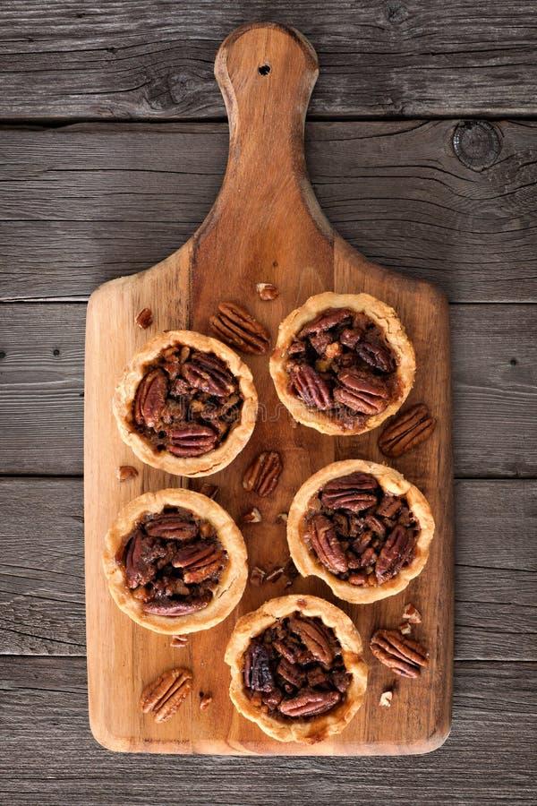 在木明轮轮叶的山核桃饼馅饼 图库摄影