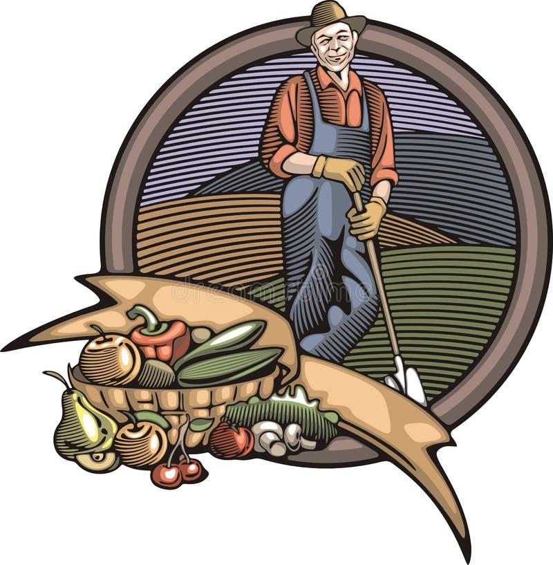 Download 在木刻样式的Countrylife和农厂例证 向量例证. 插画 包括有 板刻, 农田, 照片, 农村, 样式 - 45253169