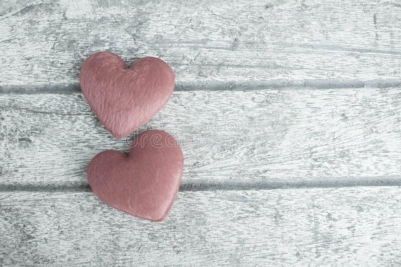 在木头的心脏 库存照片