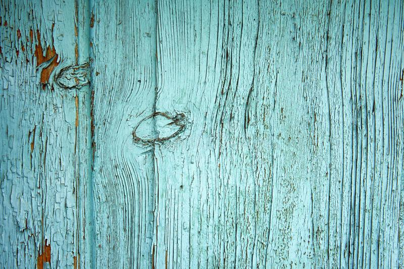 在木头的老油漆 免版税库存照片