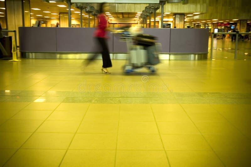 在机场 免版税图库摄影