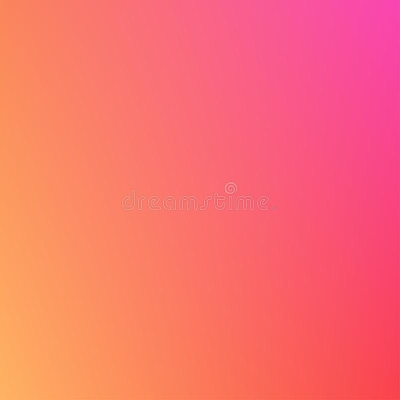在桃红色和橙色颜色的抽象梯度backround -导航例证 库存例证