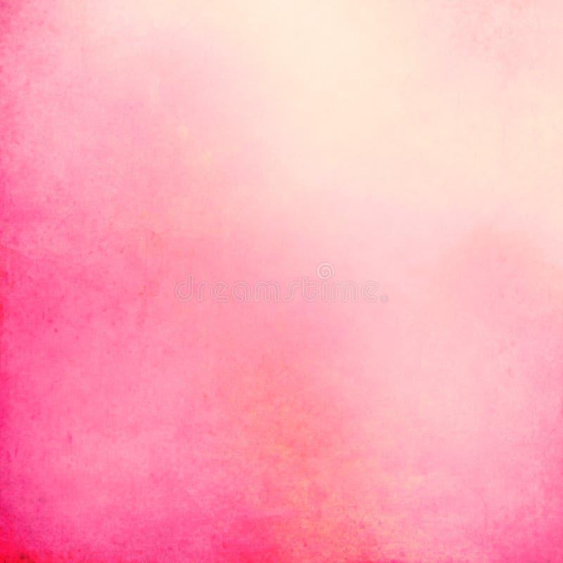 在桃红色和淡色的难看的东西背景 库存例证