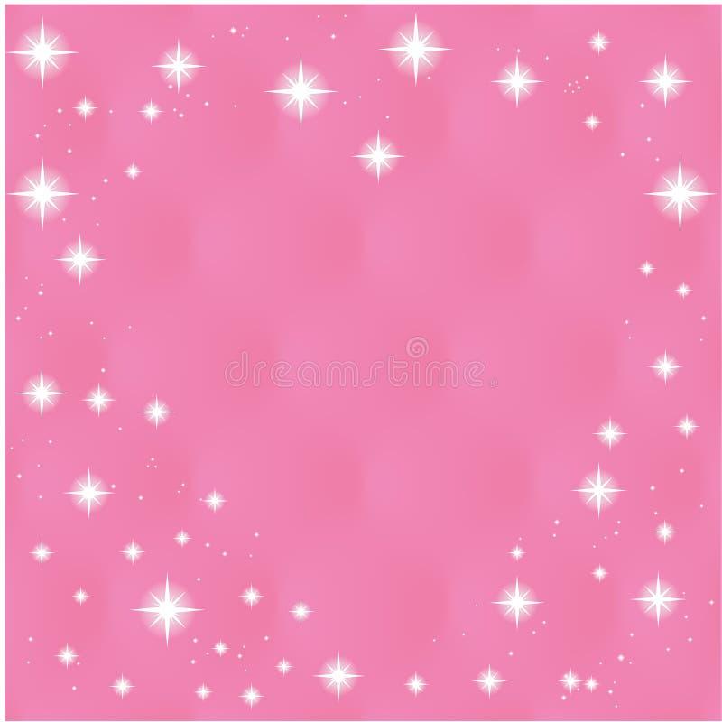 Download 在桃红色背景的愉快的情人节贺卡 向量例证. 插画 包括有 叶子, 绘画, 颜色, 现代, beauvoir - 62532140