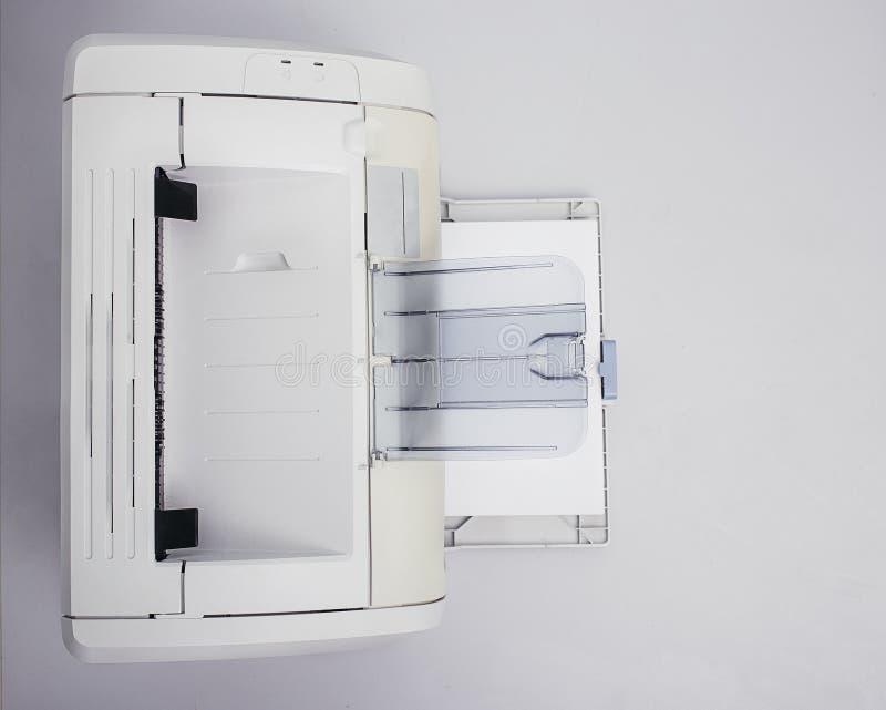 在桌上的打印机 库存照片