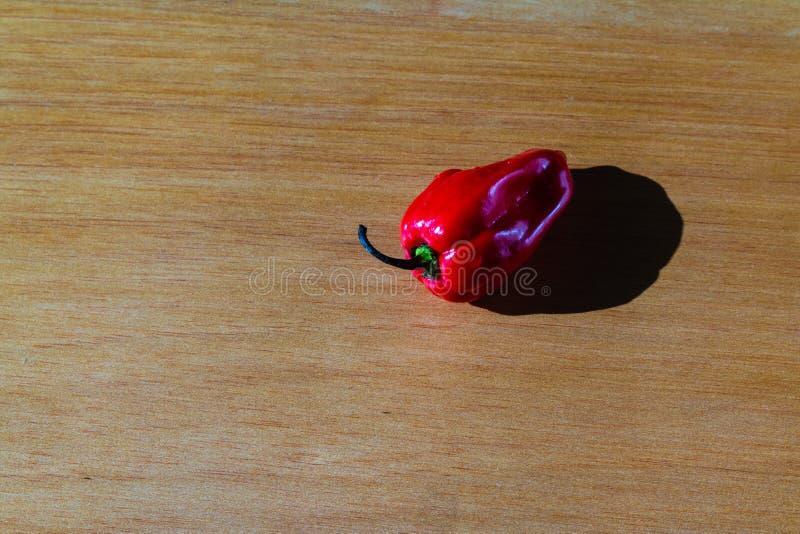 在桌上的新鲜的红色西红柿 免版税图库摄影