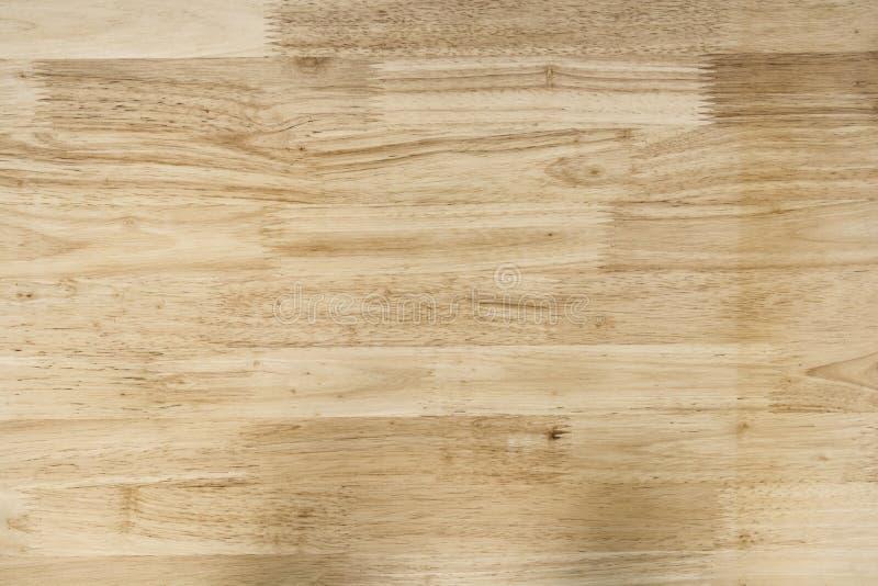 在桌上的木表面 免版税库存照片