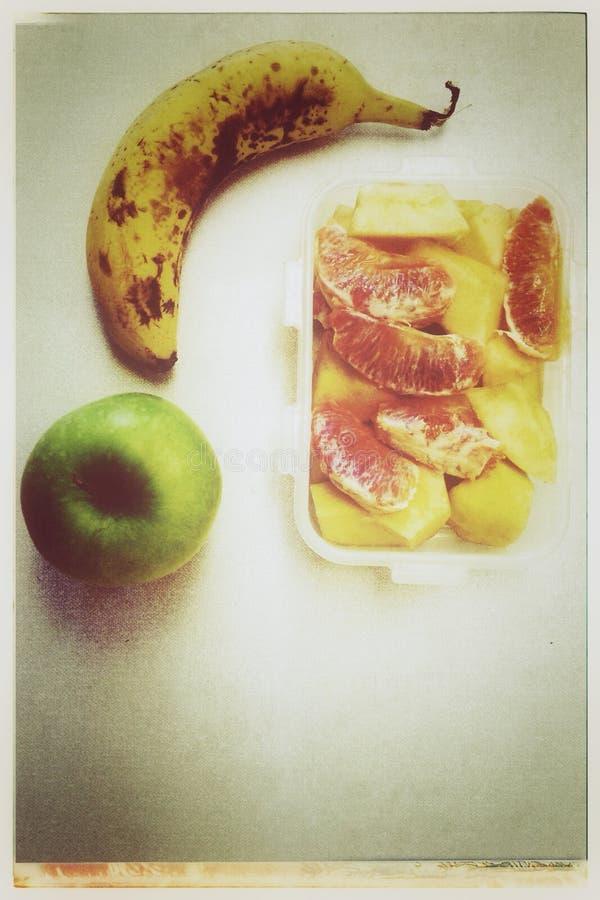 在桌上的果子 库存图片