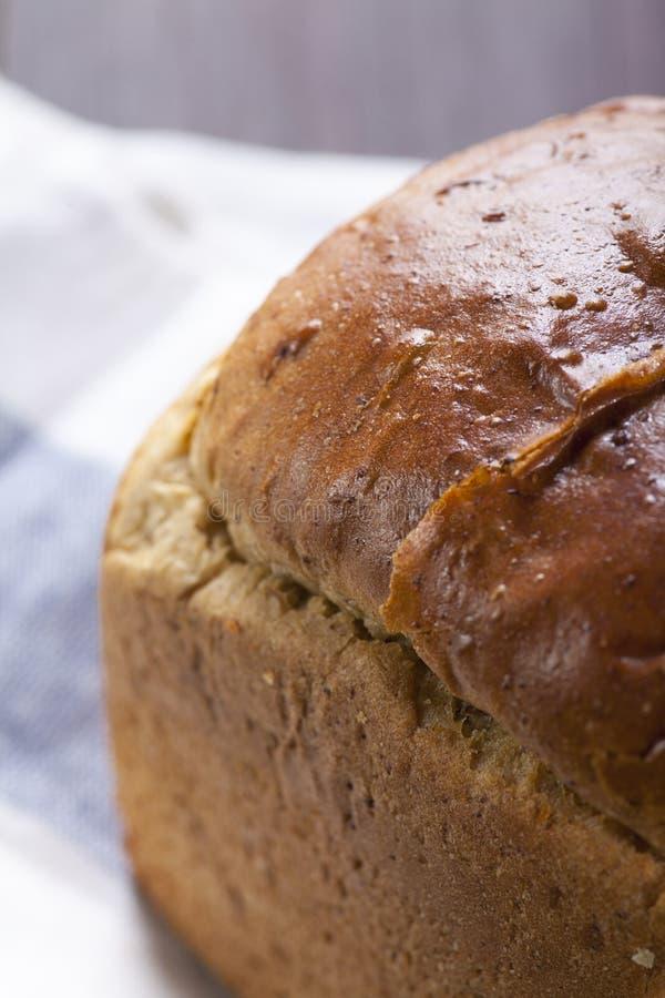 在桌上的面包 库存图片
