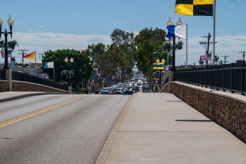 在桥梁的看法到巴波亚海岛 免版税图库摄影