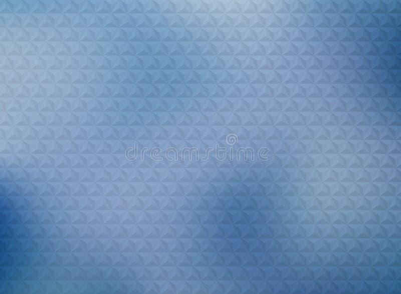在梯度蓝色背景的抽象几何三角样式设计 r 向量例证